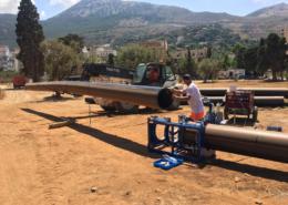 Realizzazione rete fognante Sferracavallo Palermo Valori Scarl
