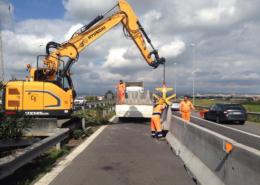 Adeguamento barriere di sicurezza R.A. 15 Tangenziale di Catania Valori Scarl