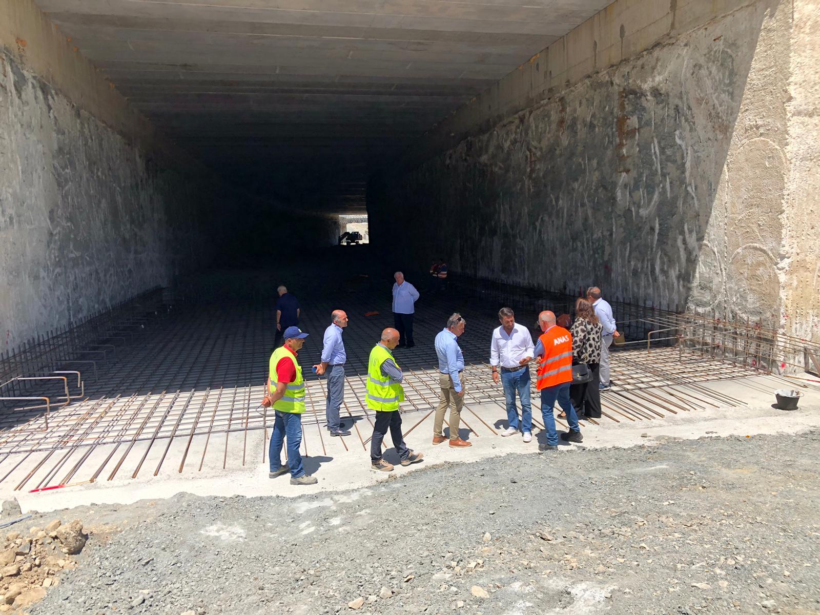 Sopralluogo cantiere SS 117 a Mistretta (ME)
