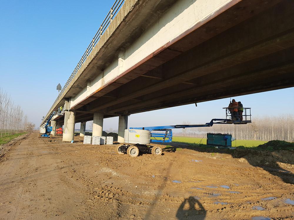 Sopralluogo Ponte Verdi a San Daniele Po (CR)