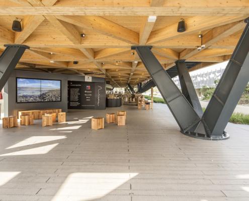 Realizzazione Padiglione del Cile Expo2015 Valori Scarl