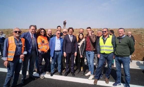 Inaugurazione SS 96 Barese con il Ministro Toninelli