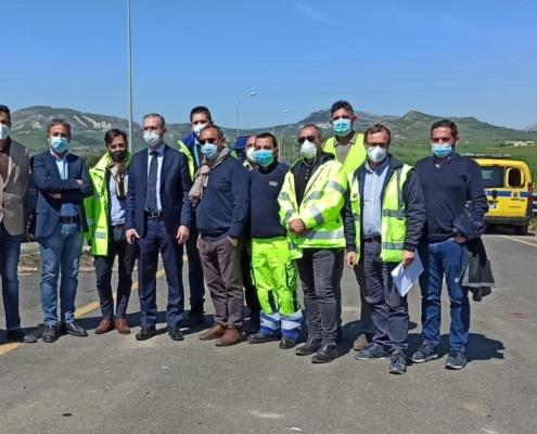 Manutenzione itinerario Catania Gela (CL) - Consegna lavori manutenzione