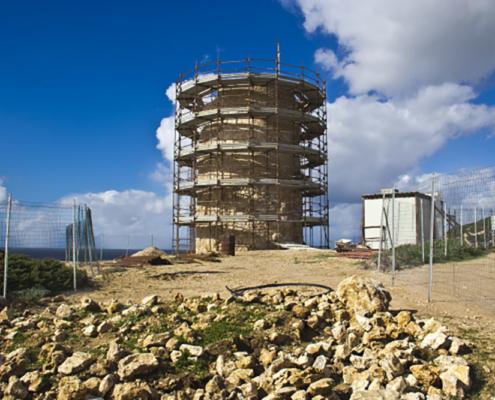 Recupero torri costiere Sardegna