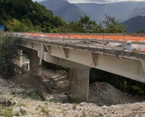 Miglioramento sismico Viadotto Tufo Valle del Tronto Valori Scarl